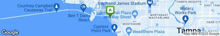 Map of Oystercatchers