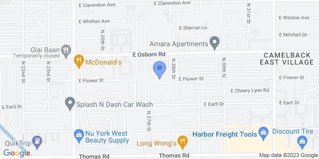 2702 E Flower St, Phoenix, AZ 85016, USA