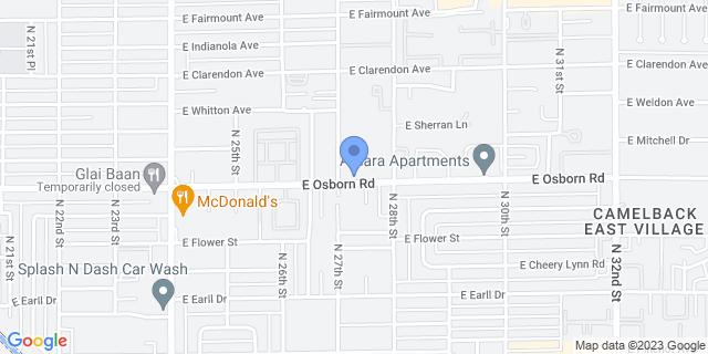 2702 E Osborn Rd, Phoenix, AZ 85016, USA