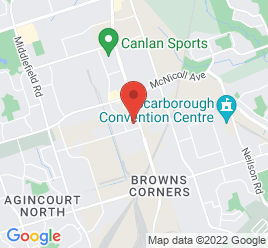Google Map of 2730+Markham+Road%2CToronto%2COntario+M1X+1E6