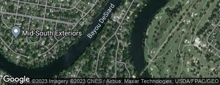 Bayou Desiard Subdivision In Monroe LA