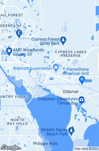 Map of Oldsmar