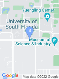 University of South Florida map