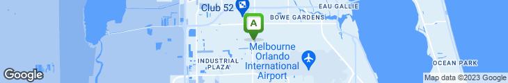 Map of Dustin's Bar-b-q