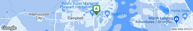 Map of Sonny's Bar-B-Q