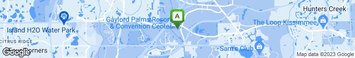 Map of Ben & Jerry's