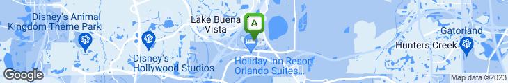 Map of Mikado Japanese Steakhouse at Orlando World Center