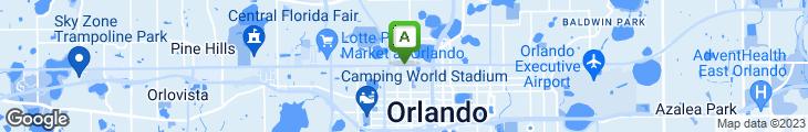 Map of Garden Cafe