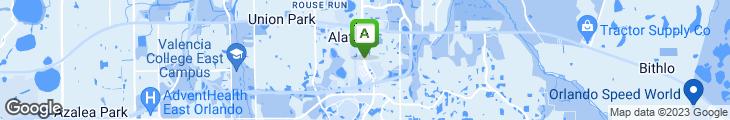 Map of Amigos Restaurant & Cantina