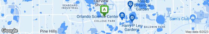 Map of Adair's