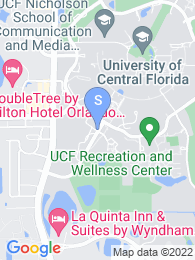University of Central Florida map