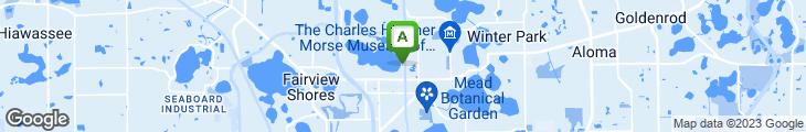 Map of Hillstone Restaurant