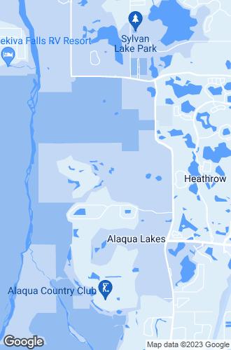 Map of Lake Mary