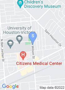 University of Houston Victoria map