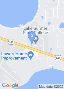 Lake Sumter Community College map