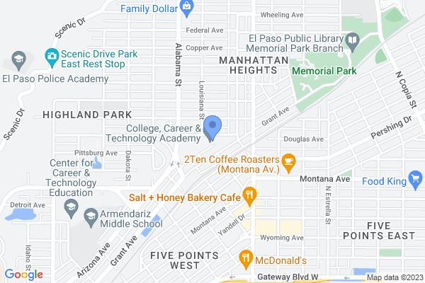 2851 Grant Ave, El Paso, TX 79930, USA