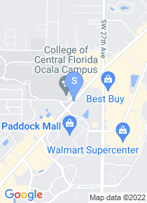 College of Central Florida map