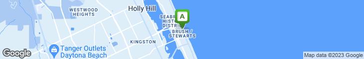 Map of Bubba Gump Shrimp Company
