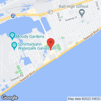 Map of Tuesday Morning at 2727 61st Street, Galveston, TX 77551