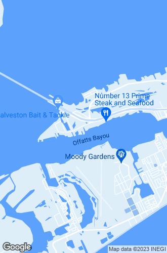 Map of Galveston