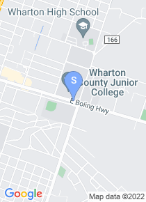 Wharton County Junior College map