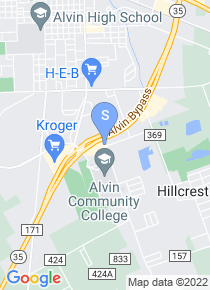 Alvin Community College map