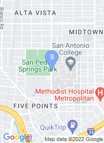 San Antonio College map