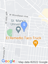 St Marys University map