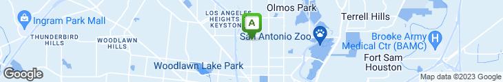 Map of Chris Madrids