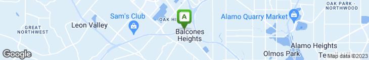 Map of Jim's Restaurant