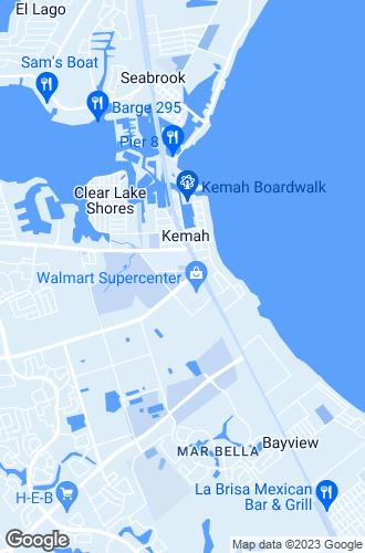 Map of Kemah