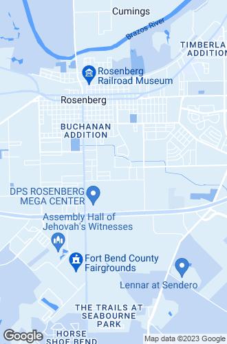 Map of Rosenberg