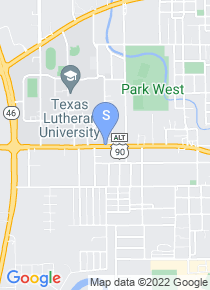 Texas Lutheran University map