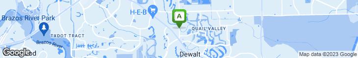 Map of Aura Restaurant