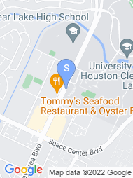 University of Houston Clear Lake map