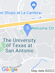 UT San Antonio map