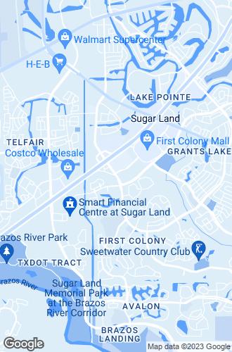 Map of Sugar Land