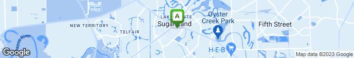 Map of Wolfgang Puck Gourmet Express