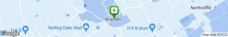 Map of Bracken Store Cafe