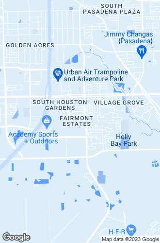 Map of Pasadena