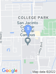 San Jacinto Community College map