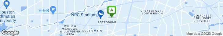 Map of Houston's Famous Deli