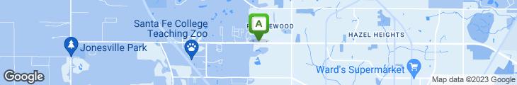 Map of Joe's Place