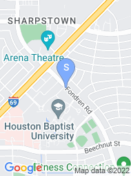 Houston Baptist University map