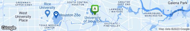 Map of Eric's Restaurant - University of Houston