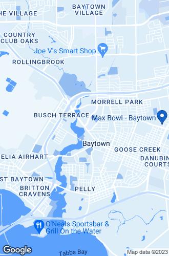 Map of Baytown
