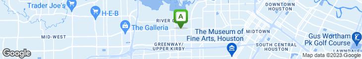 Map of Crescent City Beignets