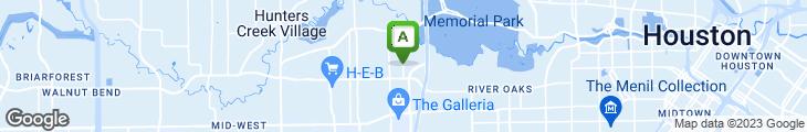 Map of Post Oak Grill