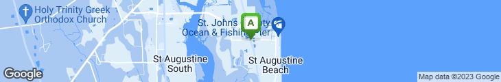 Map of Amici Italian Restaurant