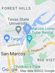 Texas State University San Marcos map